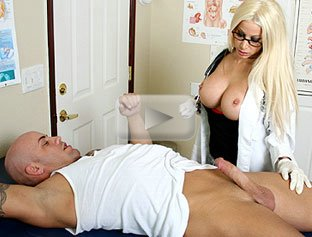 Blonde Girl Blow Job